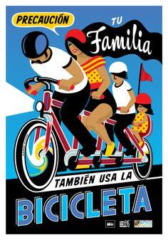 downbylow:    Precaución Bicicleta!