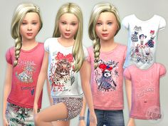 Lana CC Finds - T- Shirt Collection GP06 by lillka