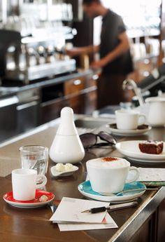 Five Senses Kollektion, Cappuccino und Espresso | Kahla Porzellan (Foto: Peter Eichler)