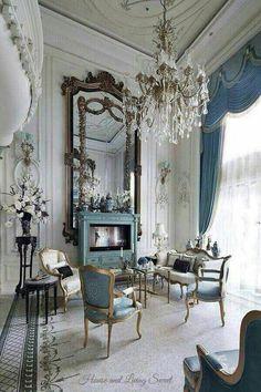 French blue elegance.