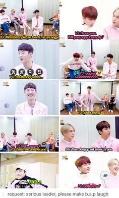 yongguk oppa, you already have aegyo