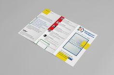 Colour Block Tri Fold Brochure