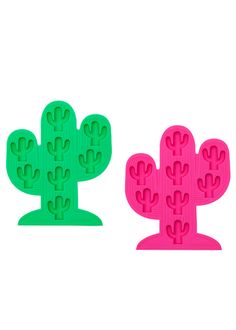 Sunnylife Australia Cactus Ice Cube Trays - Set of 2