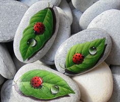 Rock Painting by Lefteris Kanetis. https://www.facebook.com/L.kanetis.paintedstones