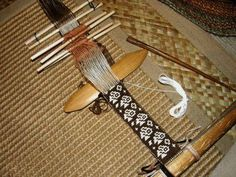 balanced double weave band in progress by Verny2, via Flickr