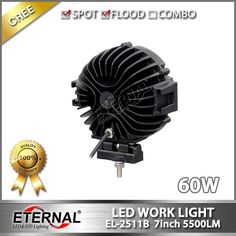 7in round offroad work light high power driving spot lamp, black or red ring,adjustable ABS plastic brackets with 304 stainless steel mounting bolts. for 4x4 off road ATV UTV SUV Ford Jeep Nissan Toyota Kenworth Volvo Scania trucks agriculture vehicles John Deere CAT tractor harvester machinery