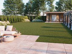 Backyard Seating, Backyard Patio, Landscape Design, Garden Design, House Yard, Dream House Interior, Side Garden, Garden Items, Australian Homes