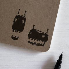 Skulls - 'Fear Not' Series. #illustration #drawing #blackwork #inkwork #graphic #design #penandink