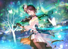 Anime Girl Cute, Anime Art Girl, Anime Girls, Felder, Dream Art, Girl Bands, Anime Outfits, Archetypes, Game Character