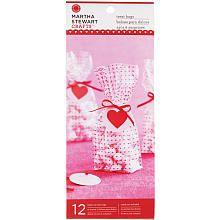 Pretty Martha Stewart Treat Bags with Mini hearts!