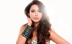 Gauhar Khan HD Wallpaper. For more cool wallpapers, visit: www.Hdwallpapersbank.com You can download your favorite HD wallpapers here .. It's free