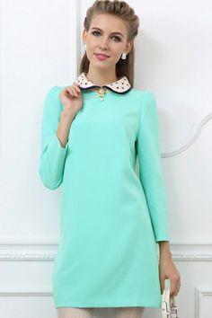 Lindo color vestido