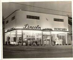 Vintage Cars 1949 Batavia, NY Lincoln-Mercury dealer - Looks like Huffman Motors, Aberdeen, Washington - American Muscle Cars, Vintage Cars, Antique Cars, Vintage Auto, Vintage Photos, Vintage Stuff, Vintage Photographs, Vintage Items, Bicicletas Raleigh