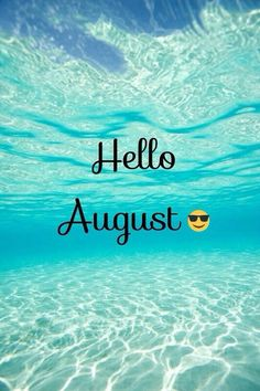 Keep calm and love sea. August Summer, August Month, New Month, Days Of Week, Days And Months, Months In A Year, Calendar Girls, Calendar 2017, August Pictures