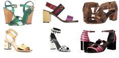Modele sandale de damă elegante cu toc gros