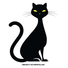 Resultado de imagen de silueta de gato