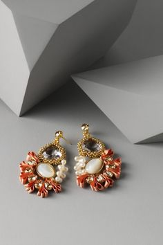 earings perfect for bridesmaids