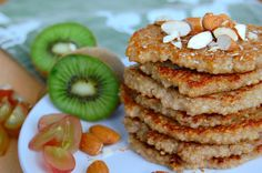 Quinoa Pancakes. Super healthy and extremely yummy! Find the recipe at www.copenhagencakes.com <3