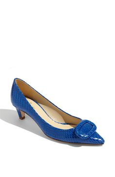 kate spade new york 'simon' pump available at Nordstrom...always...when I don't want to be over 6 feet tall  :-)