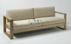 sofas modernos de madera | inspiración de diseño de interiores