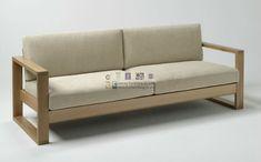 sofa de madera modernos | inspiración de diseño de interiores