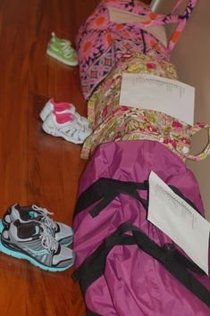 Packing Ideas, pack each daily outfits (complete with socks, underwear, etc), in a two-gallon ziploc bag.  Not only can you color-coordinate outfits ahead of time, you don't spend precious morning time looking for missing items.  And bonus -- you'll know when you're packing if you're forgetting something -- and the bags can be used for the dirty laundry on the trip home!