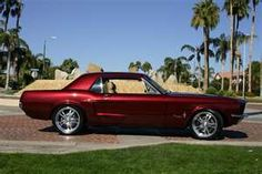 Love the color and the car.. 68 mustang, use to have one in black. Great car, miss it