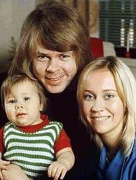 Agnetha as a mother