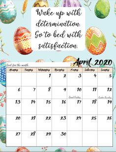 Free Printable 2020 Monday Start Monthly Motivational Calendars - new month new goals quotes Inspirational Calendar, Calendar Quotes, Blank Calendar, Kids Calendar, Calendar 2020, Monthly Calendars, Calendar Ideas, Free Calendars, August Calendar