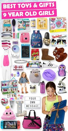 Tons Of Great Gift Ideas For 9 Year Old Girls