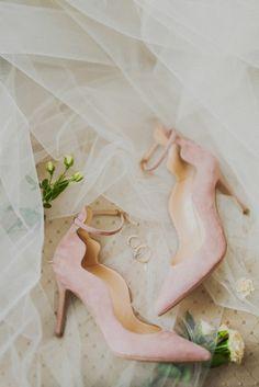 pink wedding shoes розовые туфли невесты