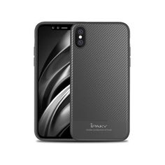 Husa APPLE iPhone X - iPaky Carbon (Gri) Apple Iphone