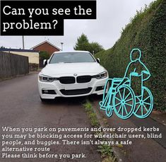 Think Before You Park! Pavement, Special Needs, Park, Bobs, Quotes, Quotations, Parks, Bob Hairstyle, Bob