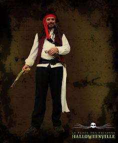 Costume de Jack Sparrow pour l'Halloween