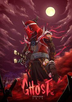 kamen rider ghost musashi tamashii fanart