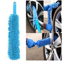 Car Cleaning Brush Flexible Long Mircofibre Noodle Chenille Alloy Wheel Cleaner Car Wash Brush by ShopIdea #Cleaning #Brush #Flexible #Long #Mircofibre #Noodle #Chenille #Alloy #Wheel #Cleaner #Wash #ShopIdea