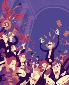 """Check out this @Behance project: """"VMF Mural: The Mad Symphony"""" https://www.behance.net/gallery/42891515/VMF-Mural-The-Mad-Symphony"""