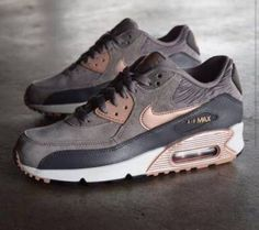 Shoes: nike air max 90 suede sneakers nike grey grey sneakers: I WANT THESE!!!!