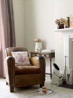 Perfect curl up with a blanket and coffee first thing in the morning chair ......