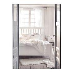 hemnes bed frame white stainlury standard king