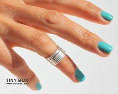 Anel de falange Knuckle Ring Anel Aneis de falange by TinyBox12