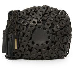 Zimmermann Circular Link Bag ($580) ❤ liked on Polyvore featuring bags, handbags, circle bag, circle purse, zimmermann and circle handbags