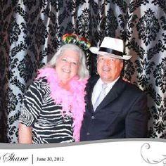 Partying at Debra & Shane's wedding