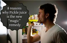 """Pickle juice is the new """"magic"""" remedy for pretty much everything.. Here are 8 reasons why."""