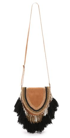 ONE by Type Alpha Embroidered Saddle Bag | SHOPBOP