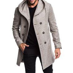 Großhandel ENWAYEL Winter Luxus Daunenjacke Herren