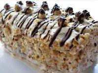 Tort Mirajul fructelor Krispie Treats, Rice Krispies, Romanian Desserts, Sweet Treats, Food Styling, Sweets, Candy, Rice Krispie Treats