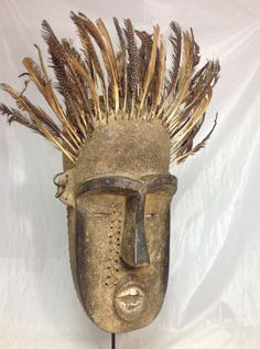 African Tribal Mask, Wobe - Guere - Ceremonial Mask, Côte d'Ivoire and Liberia, African Mask by AmazingMagicalSpells on Etsy