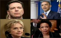 There is no way in hell that Hillary Clinton, Comey, Lynch & Obama are going to walk away as free men & women in the worst scandal in the history of the US. the Dems are trying to downplay the seriousness of what they created. Things are about to get very weird & dangerous