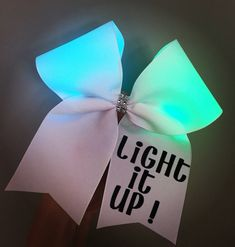 Color changing Light Up Cheer Bow